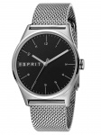 Esprit ES1G034M0065 Black Silver Mesh - G Herrenuhr Edelstahl Silber