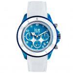 Ice-Watch 014220 ICE dune white superman blue Large CH Uhr Datum Weiß