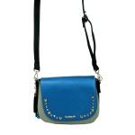 Desigual Bols Cracovia Tricolor Blau Grün 17WAXPYD Handtasche Tasche