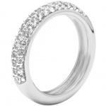 Fossil JFS00080 Damen Ring Sterling-Silber 925 Zirkonia 56 (17.8)