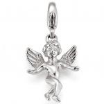 Basic Silber 22.VX390 Charms Damen Charm Silber Engel