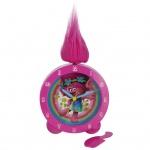 Rhythm TROL51 TROLLS Wecker Uhr Mädchen Kinderuhr Alarm Mehrfarbig