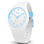 Ice-Watch 014425 Ice ola Kids Cotton white small Uhr Kinderuhr Weiß
