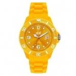 Ice-Watch SI.GL.U.S.10 Unisex Silikonband 50m Datum gelb Unisex