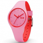 Ice-Watch DUO.PRD.S.S.16 ICE duo Pink red Small Uhr Damenuhr rosa