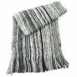 Esprit Schal Brushed Rush Grau-Schwarz 113EA2Q017-E001 Strick 178 cm