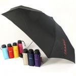 Esprit Taschenschirm Petito 50251 Regenschirm Schwarz