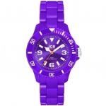 Ice-Watch SD.PE.U.P.12 Ice Solid Purple Unisex Uhr Kunststoff violett