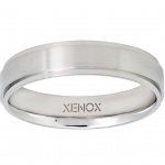 XENOX X2266-62 Herren Ring XENOX & friends Edelstahl Silber 62 (19.7)