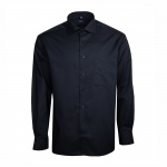 Eterna Herrenhemd Langarm Comfort Fit Schwarz XL/44 Hemd 8697/39/E187