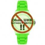 Ice-Watch Uhrenarmband LB-SI.GN.B.S.09 Silikon 22 mm Grün