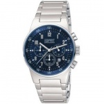 Esprit 4260635 Herrenuhr equalizer blue metal chrono Datum Chronograph