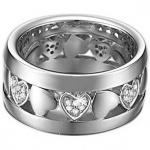 Esprit ESRG-91410.A Damen Ring patient heart Silber Zirkonia 50 (15.9)