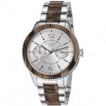 Esprit ES106742001 marin tortoise light brown Uhr Damenuhr Datum braun
