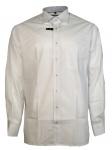 Eterna Herrenhemd Langarm Modern Fit Weiß Gr. XXL/45 8500/00/X37R