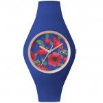 Ice-Watch ICE.FL.ROY.U.S.15 ICE FLOWER Royal Unisex Uhr blau