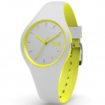 Ice-Watch DUO.GYW.S.S.16 ICE duo Grey yellow Small Uhr Damenuhr grau
