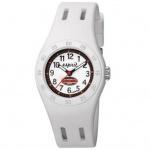 Esprit ES103464005 Kinderuhr fun racer white weiß Silikonband 30m