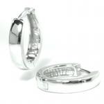 Basic Silber SO28 Herren Creolen Silber