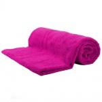 Saunatuch Julie Pink Frottee Baumwolle 500g/m2 Handtuch 80 x 200 cm