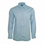 Eterna Hemd Langarm 4107/11/X177 Modern Fit Blau XL/44