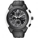 Citizen CA0286-08E Eco Drive Chronograph Uhr Chrono Datum schwarz
