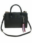 Tommy Hilfiger Handtasche Tasche Charming Tommy M Workbag Schwarz