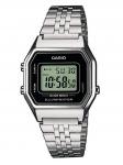 CASIO LA680WEA-1EF Uhr Herrenuhr Edelstahl Datum Alarm Silber