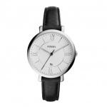 Fossil JACQUELINE Uhr Damenuhr Lederarm schwarz ES3972