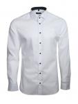 Eterna Herren Hemd Langarm Slim Fit Hemden 8585/00/F140 Weiß S/38