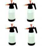 4x Sprayer 1, 5 L Weiß-Schwarz Handsprüher 1, 5 L