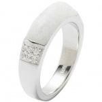 Fossil JF18045 Damen Ring 925 Sterling Silber 53 (16.9)