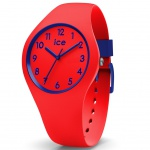 Ice-Watch 014429 Ice ola Kids Circus small Uhr Kinderuhr Silikon Rot