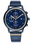 Tommy Hilfiger 1781893 BLAKE Uhr Damenuhr Edelstahl Datum Blau