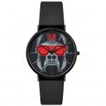 Ice-Watch ICE chinese Black Red Uhr Herrenuhr Lederarmband schwarz