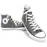 Converse Damen Schuhe All Star Hi Grau 1J793 Chucks Sneakers Gr. 37, 5