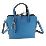 Desigual Bols Hamar Tricolor Blau Schwarz 17WAXPNE Handtasche Tasche