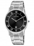 FESTINA F6867/3 Uhr Herrenuhr Edelstahl Datum Silber