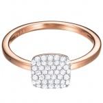 Esprit ESRG92811C Damen Ring esprit-jw50008 Rose Silber weiß 50 (15.9)