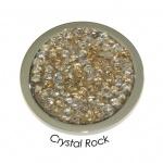 Quoins QMOK-01M-GL Münzen medium Crystal Rock Champagner