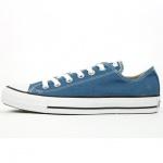 Converse Damen Schuhe All Star Ox Blau 136816C Chucks Sneakers Gr/37, 5