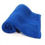 Handtuch Royalblau Baumwolle 500g/m2 Frottee 50 x 100 cm