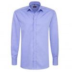 Eterna Herrenhemd Langarm Modern Fit Blau Gr. M/40 8100/12/X177
