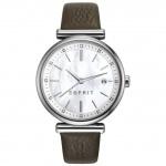 Esprit ES108542002 esprit-tp10854 dark brown Uhr Damenuhr Datum braun