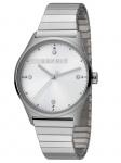 Esprit ES1L032E0095 VinRose Silver Matt Uhr Damenuhr Edelstahl Silber