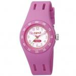 Esprit ES103464006 Kinderuhr fun racer pink Silikonband Edelstahl