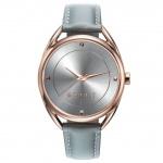 Esprit ES906552001 esprit-tp90655 grey Uhr Damenuhr Lederarmband rosé