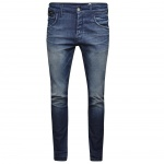 Jack & Jones Herren Jeans 12086225 Nick Core Lab NOOS Blau 29W / 34L