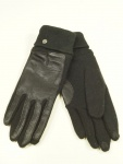 Esprit Handschuhe Fingerhandschuhe Touchscreen Sporty Nappa M Schwarz