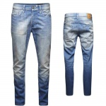 Jack & Jones Herren Jeans 12086430 MIKE Original AT Blau Gr. 28W / 32L